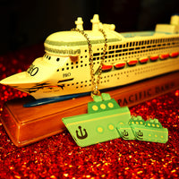 Cruise Ship - Pendant/Earrings