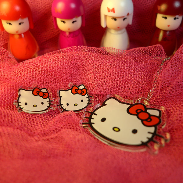Hello Kitty - Pendant/Earrings