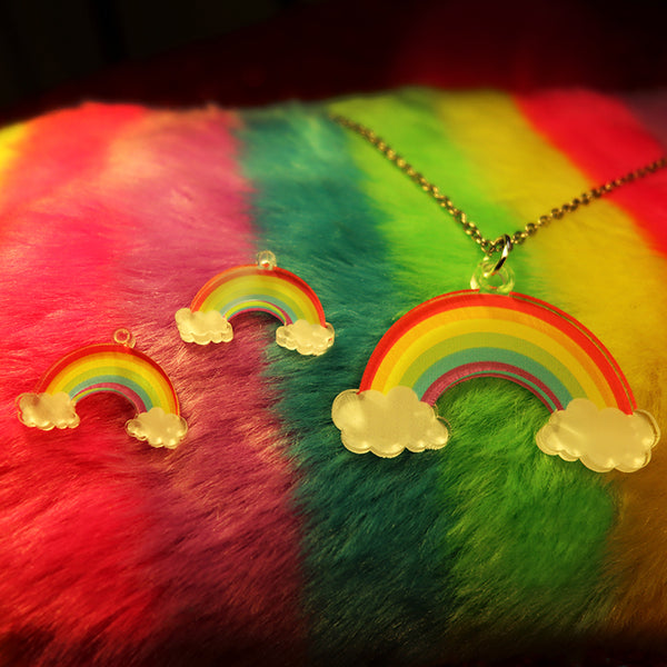Rainbow - Pendant/Earrings