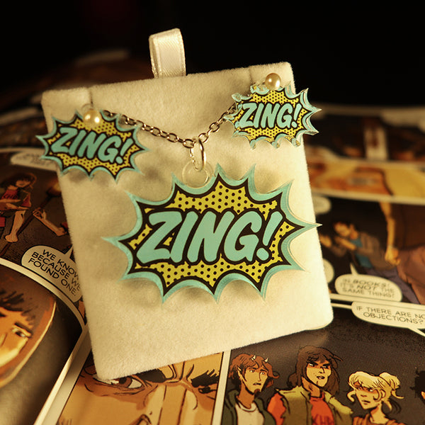 ZING! - Pendant/Earrings