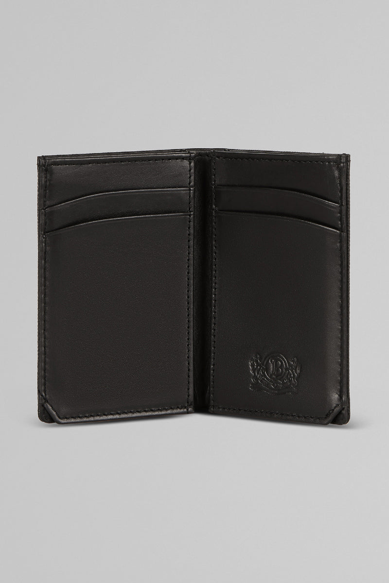 Caviar Leather Vertical Card Holder