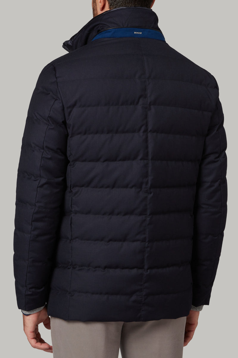 Down-Filled Technical Fabric Jacket