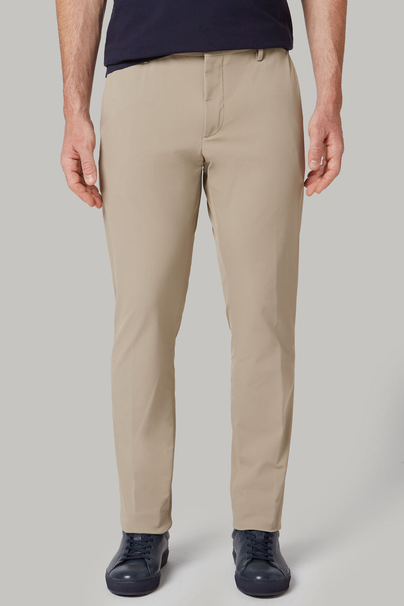 Regular Fit Stretch Nylon Trousers