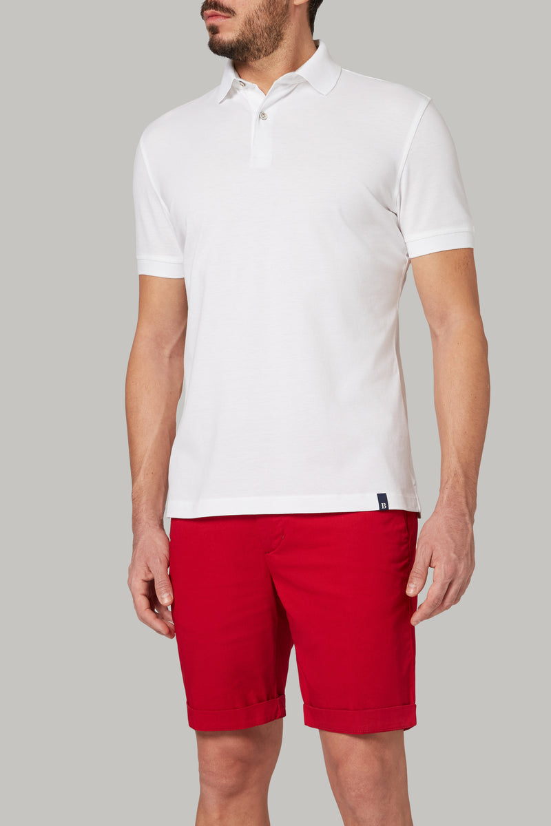 REGULAR FIT COTTON PIQUE POLO SHIRT