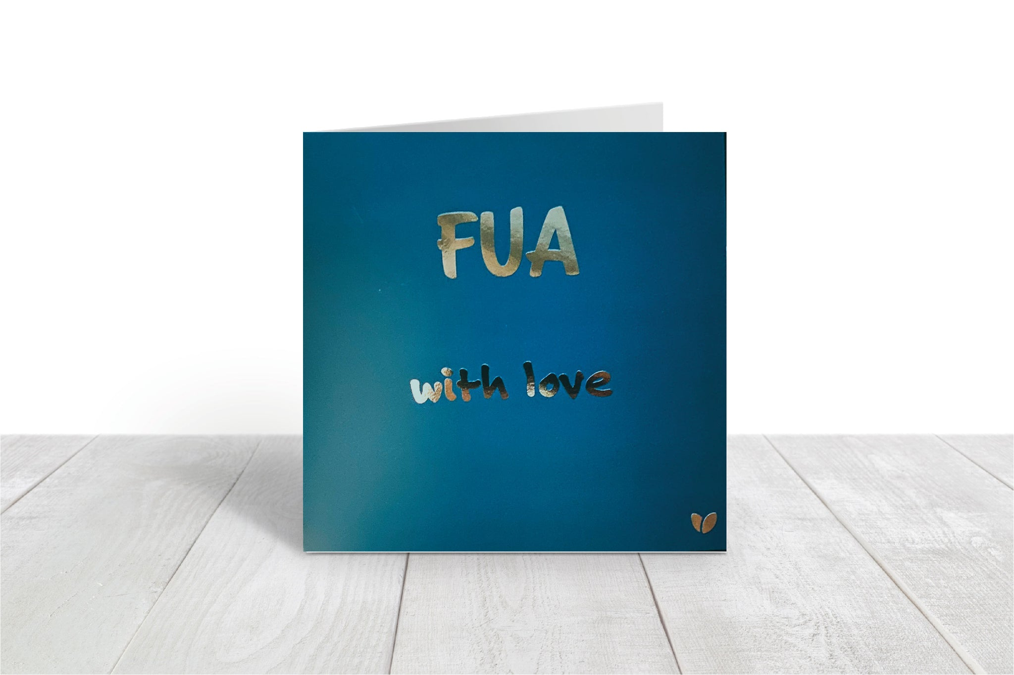 Fua, with love greeting card