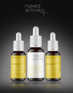 Naked Actives Vitamin C Serum with Magnesium Ascorbyl Phosphate For Damage Repair