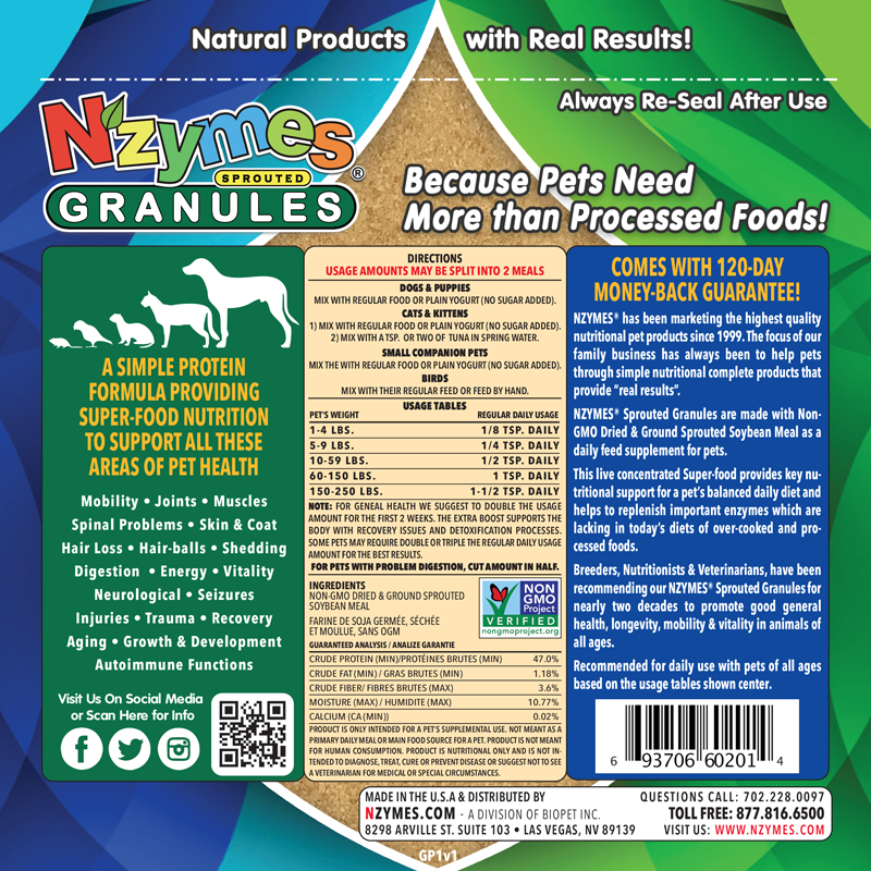 Sprouted Granules 1lb