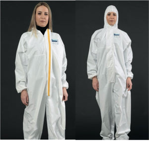 Disposable Type 5/6 Coverall - Hospital Grade