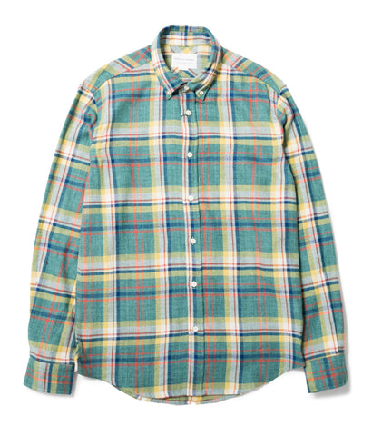 Japanese Green Check Shirt