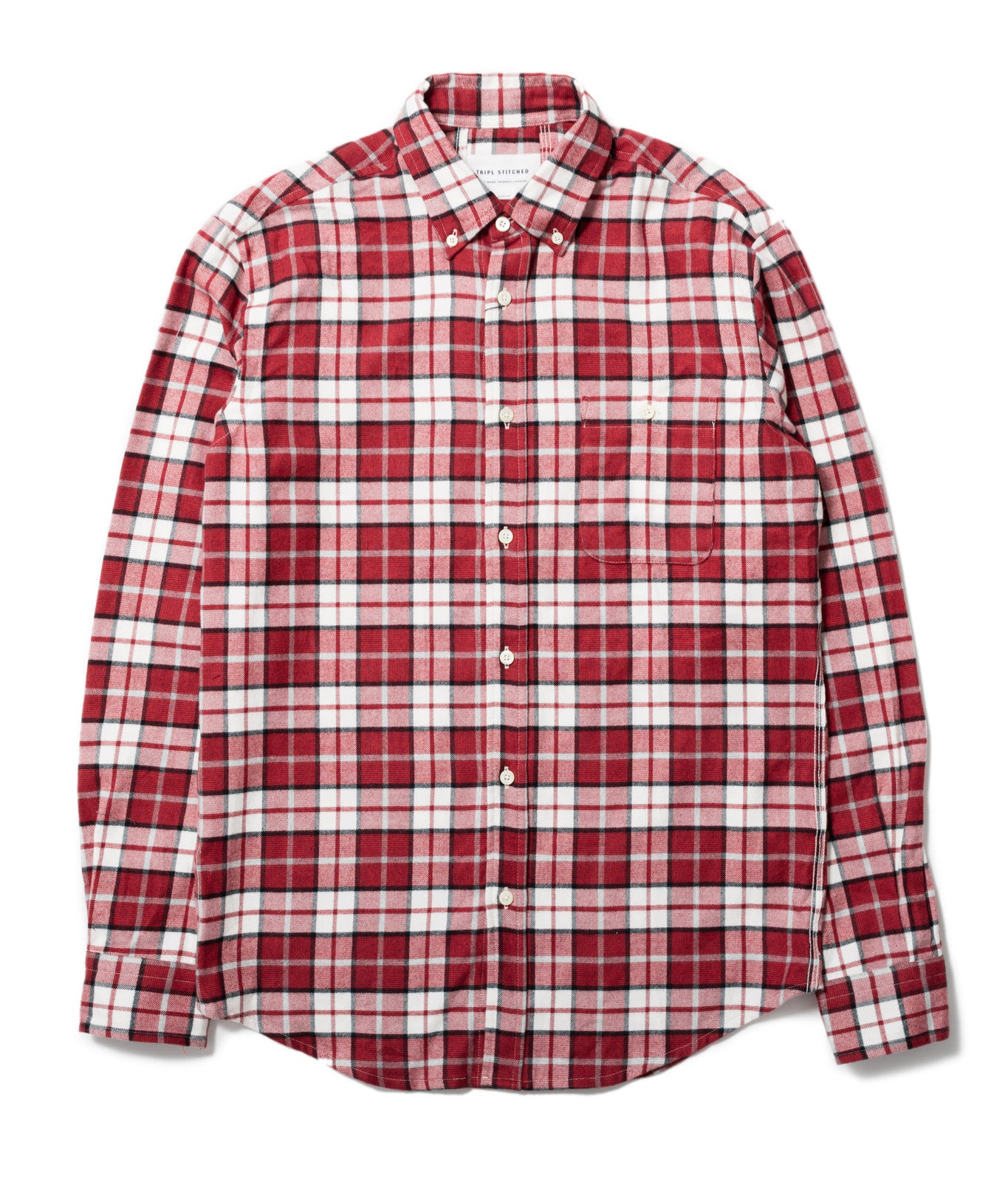 Red Tartan Button Down