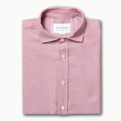 Cashmere Spread Collar - Rose