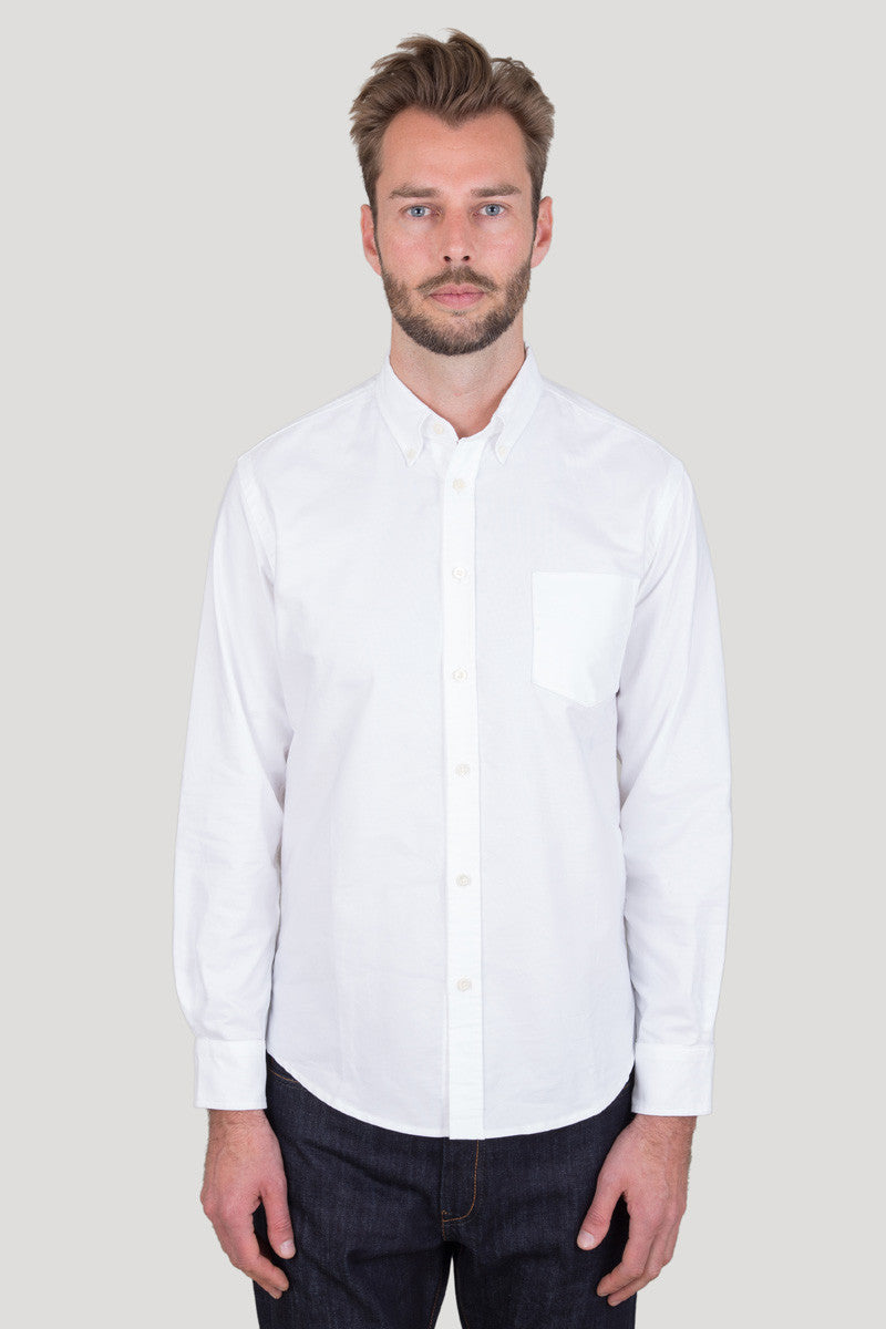 Classic Button Down - White Oxford