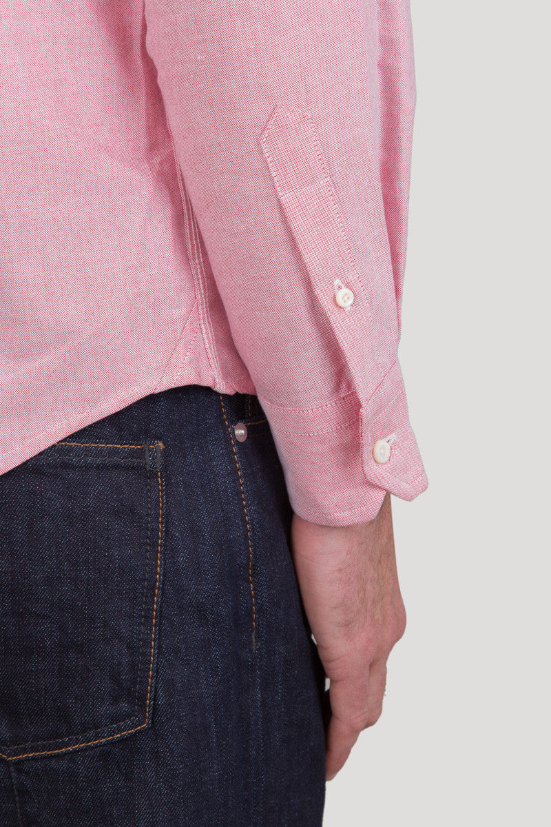 Classic Button Down - Rose Oxford