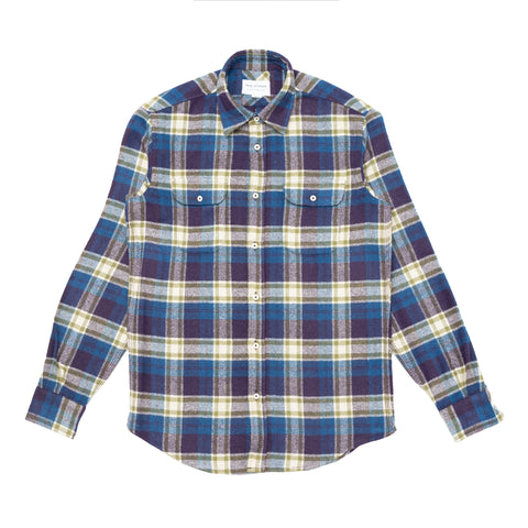 Overshirt - Blue Green Check