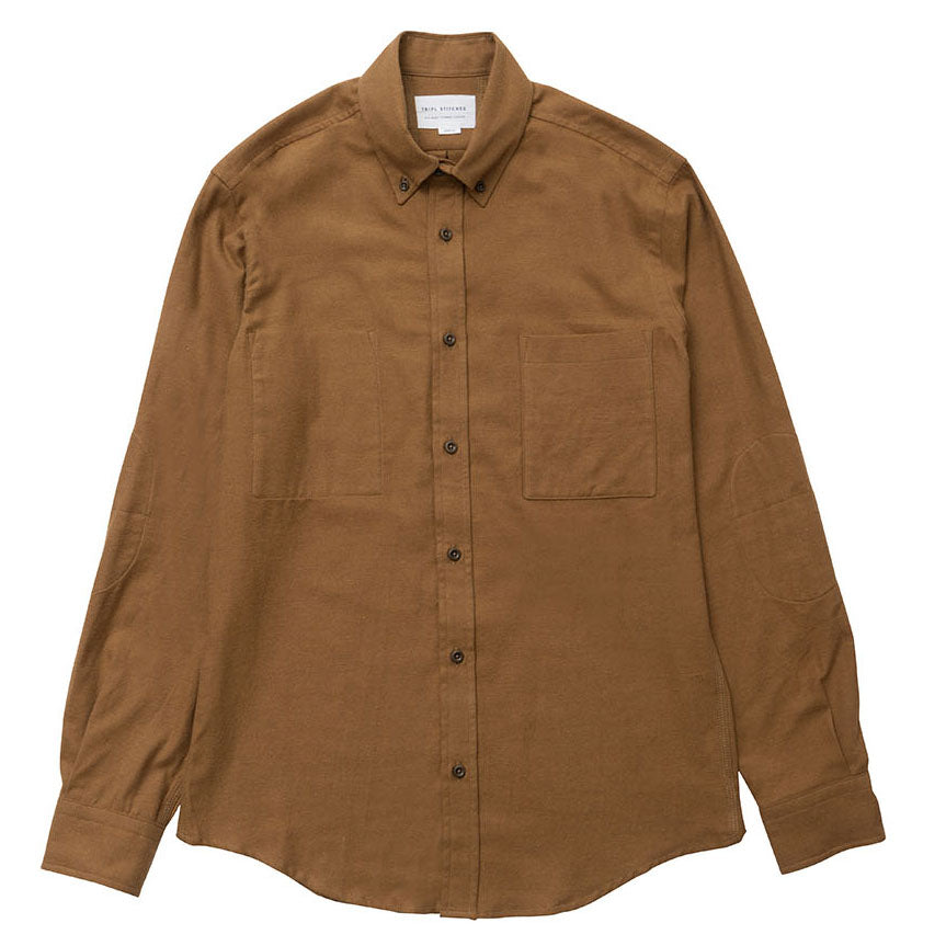 Brushed twill - Brown