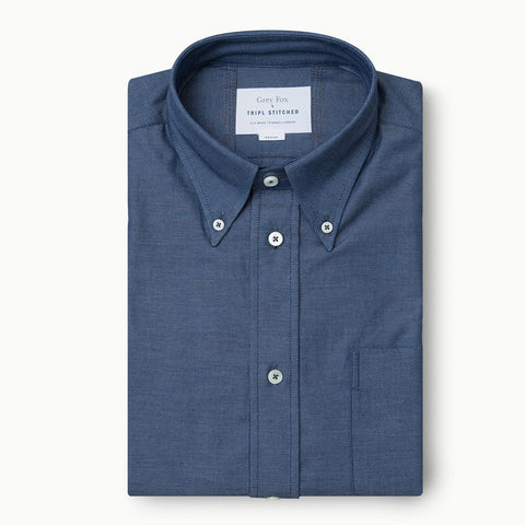 Italian 3 Finger Oxford Button Down