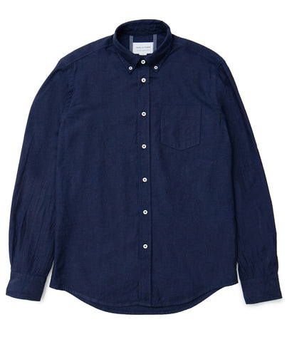 Classic Button Down - Indigo Oxford