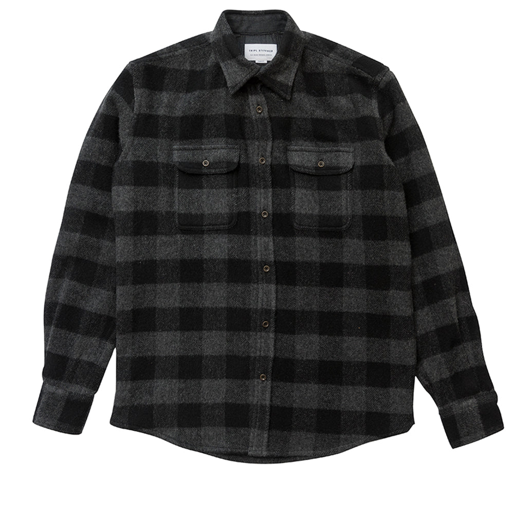 Overshirt - Black/Charcoal