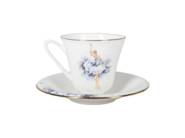 "A cup with saucer  ""Fairy of tenderness"" shape Garden"