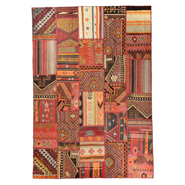 Turkish Anatolian Kilim Patchwork 299x238cm