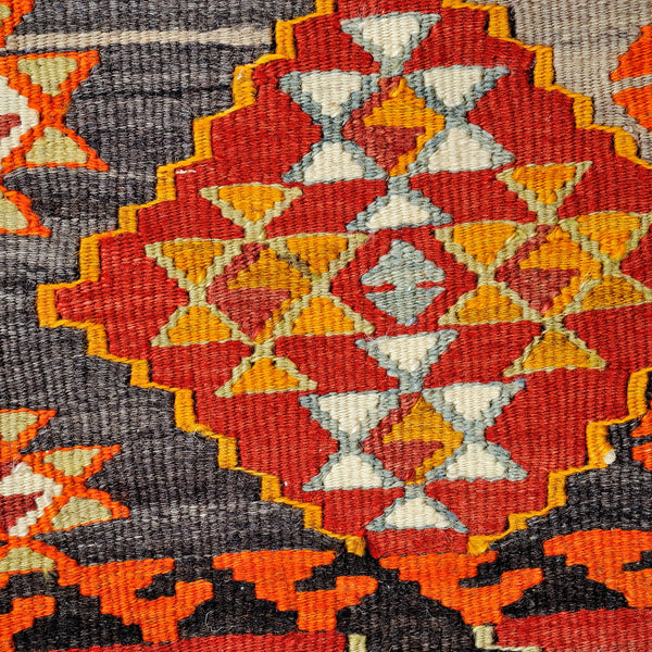 Turkish Anatolian Kilim Patchwork 303x201cm