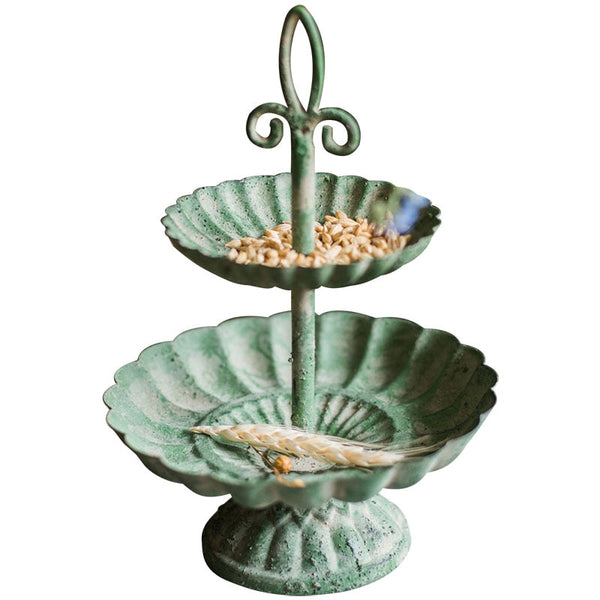 2-Tiered Handcrafted French Serving Tray