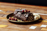 Chocolate, Hazelnut Amaretto Yule Log