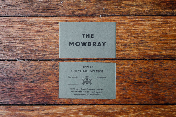 The Mowbray Gift Card