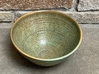 "M. Patterson Ceramic Serving Bowl, 9""w x 5""h"