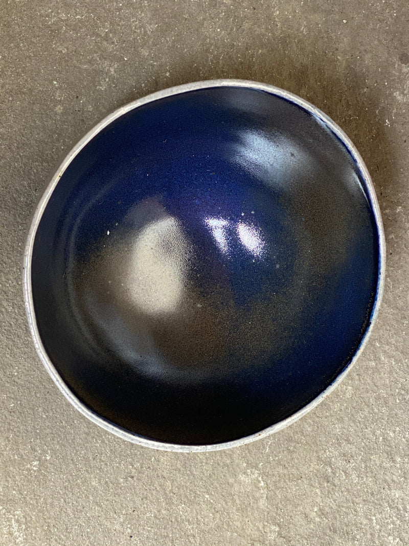 "J. H. Peace Ceramic Bowl, 6.75""w x 3.5""h"