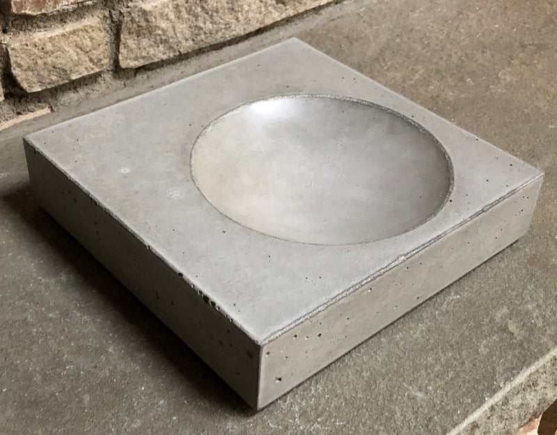 Fog Concrete Bowl
