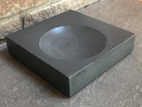 Battleship Grey Concrete Bowl