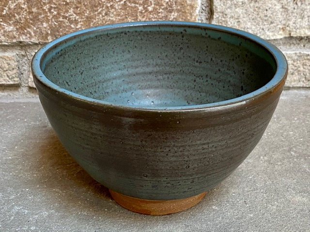 "Large Blue Ö Bowl, 8 1/2""w x 5 1/2""h"