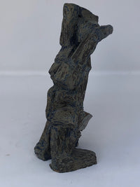 Ceramic Kneeling Figure Sculpture