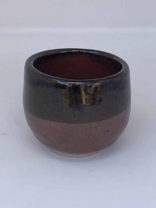 Small Stoneware Glazed Cup
