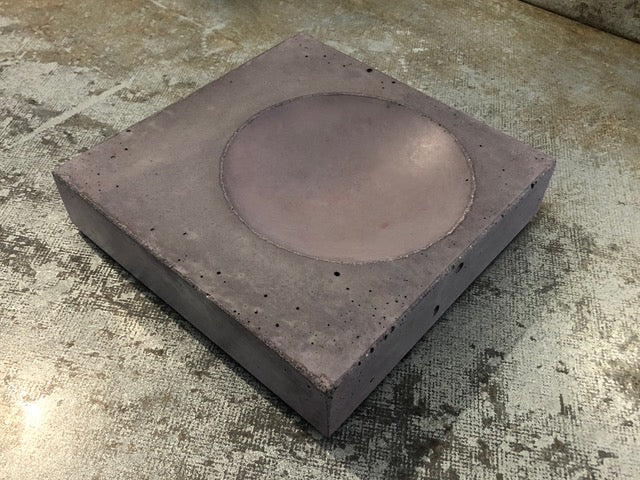 Clay Concrete Bowl