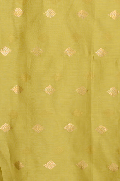 Lime Green Chanderi Dupatta