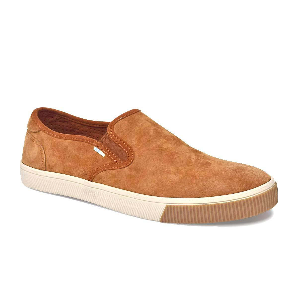 Men's Carmel Brown Pig Nubuck Baja