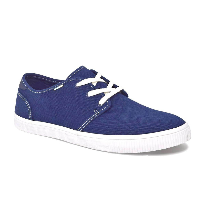 Navy Canvas Men's Carlo Sneakers Topanga Collection