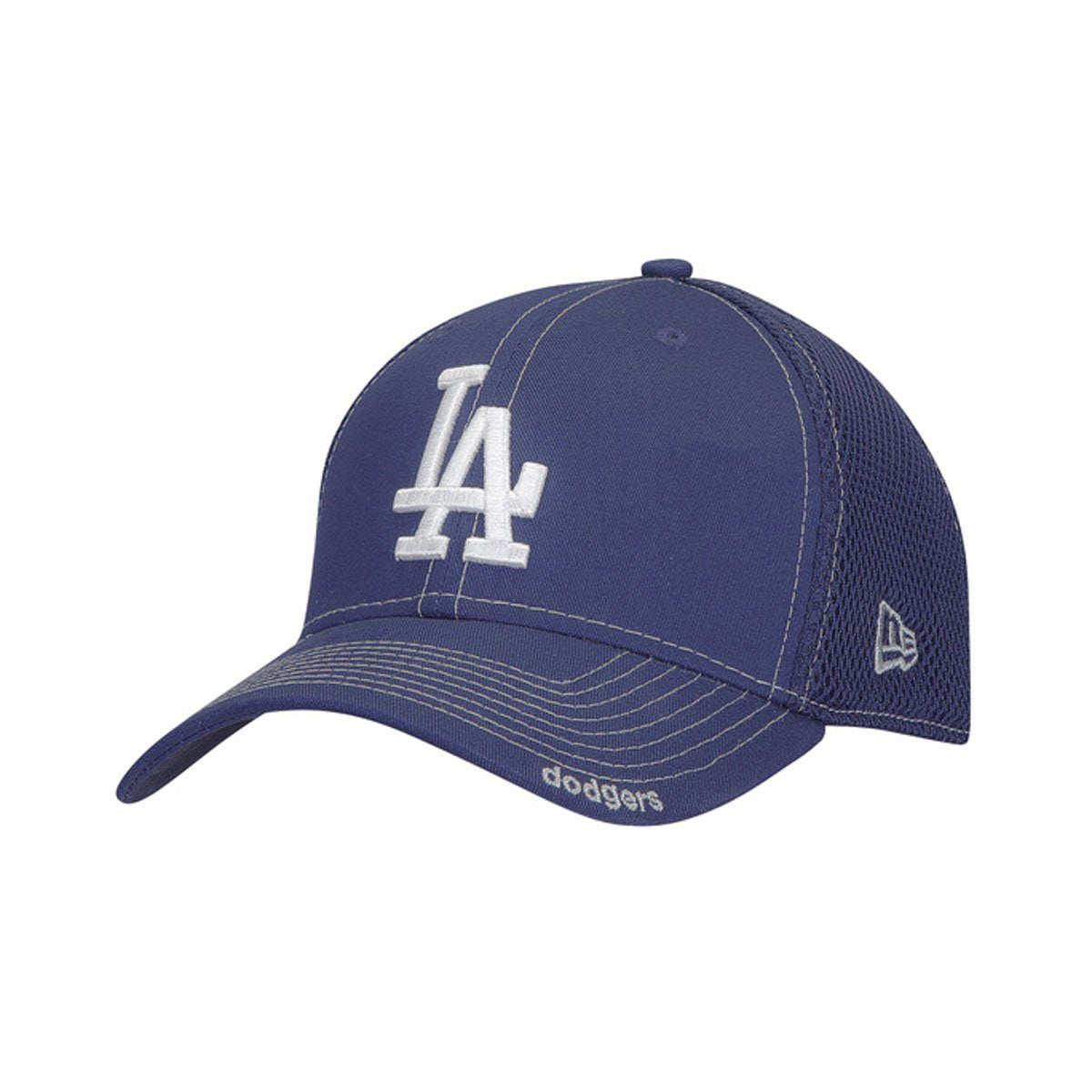 MLB Neo Los Angeles Dodgers Royal Blue 39THIRTY Stretch Fit