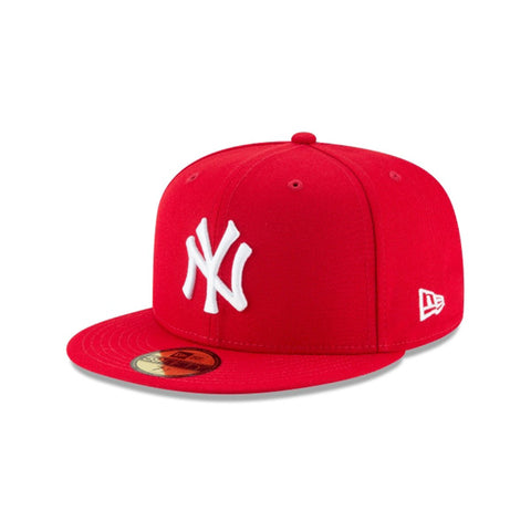 NEW YORK YANKEES BASIC 59FIFTY FITTED_RED