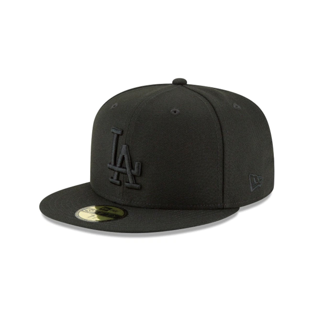 LOS ANGELES DODGERS BLACKOUT BASIC 59FIFTY FITTED
