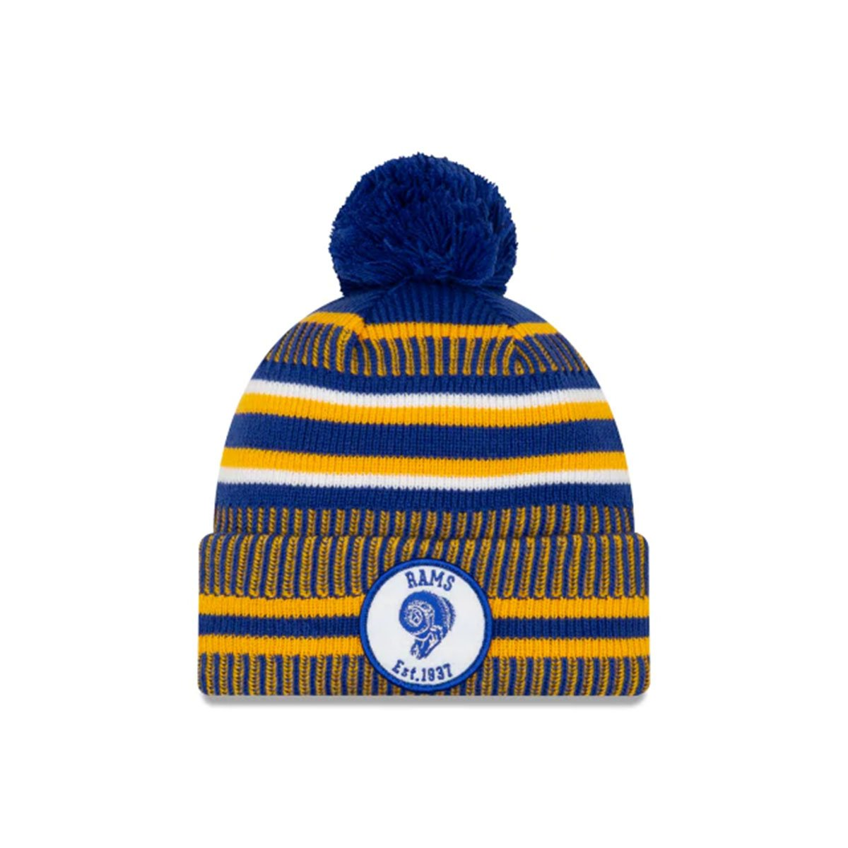 LOS ANGELES RAMS BEANIE BLUE/YELLOW