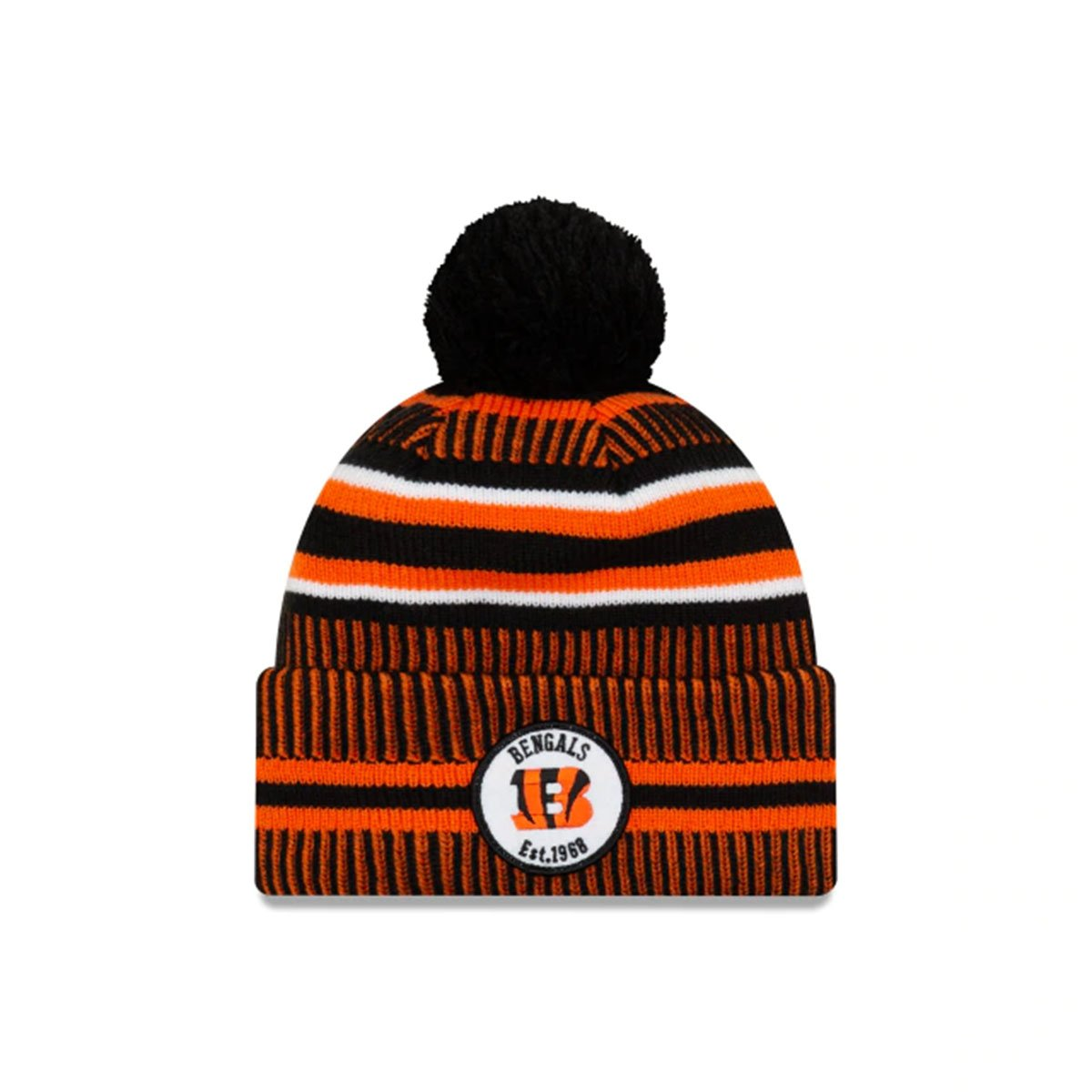 CINCINNATI BENGALS BEANIE_ORANGE/BLACK
