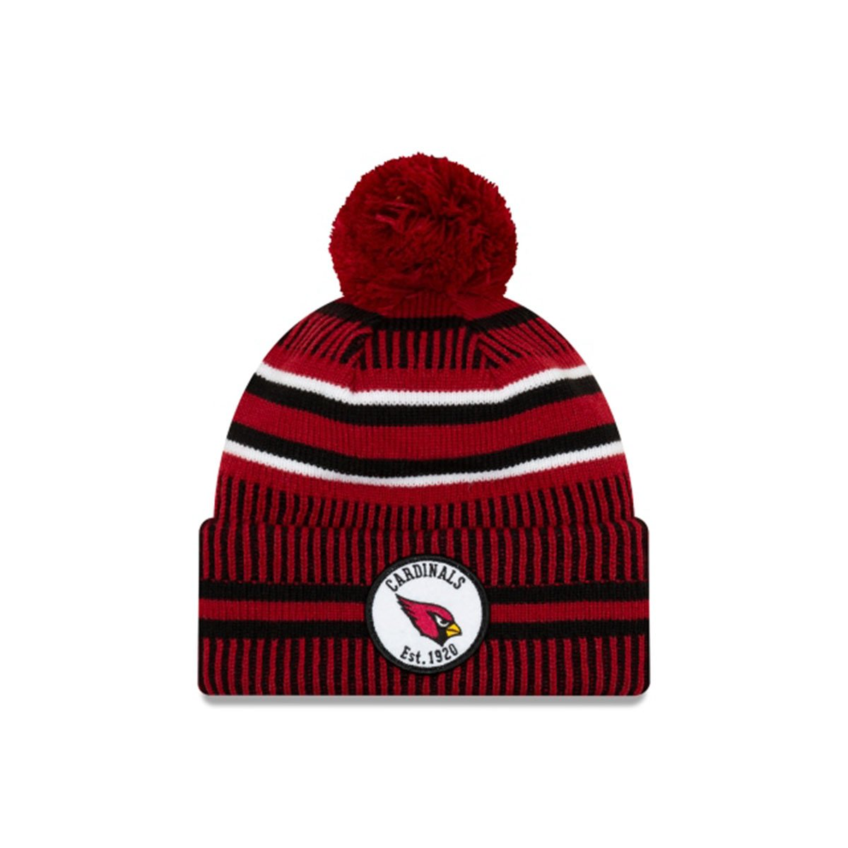 ARIZONA CARDINALS ARIZONA CARDINALS OFFICIAL NFL SIDELINE HOME SPORT KNIT RED/BLACK