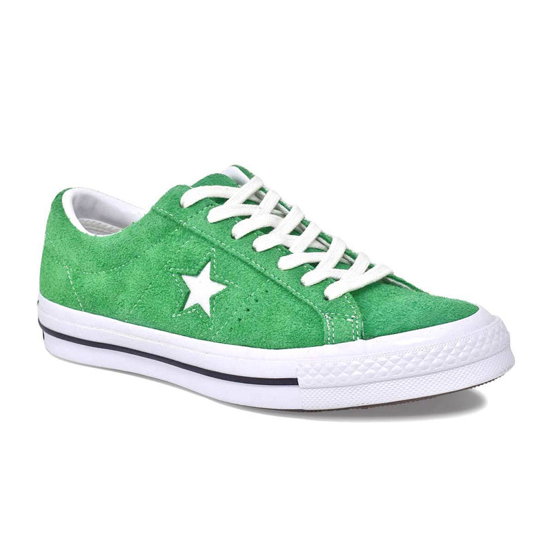 One Star Ox Green Suede