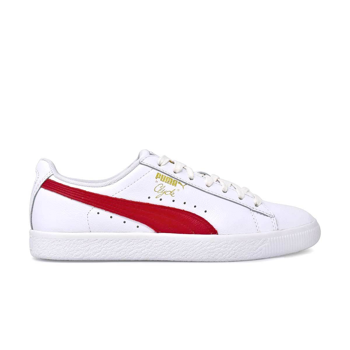 Clyde Core L Foil White/Red