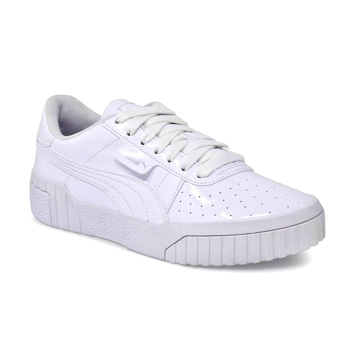 Kids Cali Patent JR White