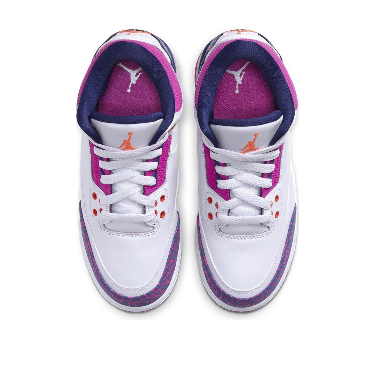 Big Kids Girls' Air Jordan 3 Retro (GS) Shoe
