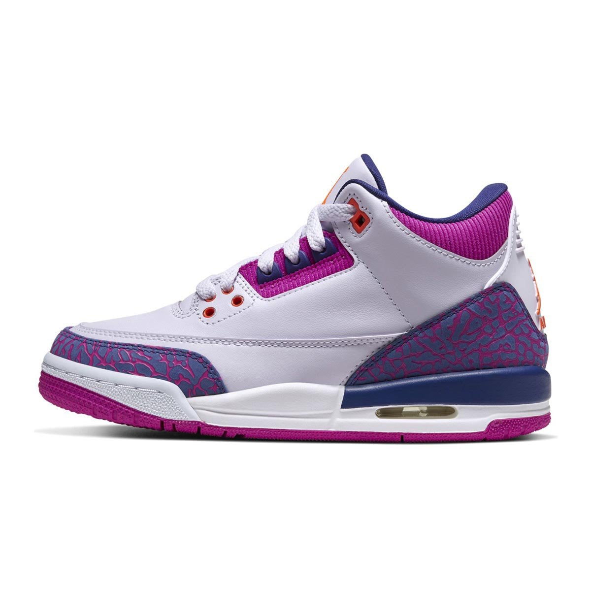 Girls' Air Jordan 3 Retro (GS) Shoe